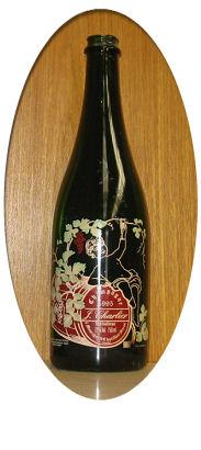Botella de Cava 09