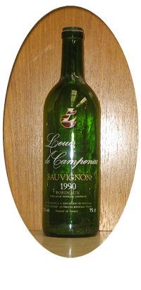 Botella de Cava 17